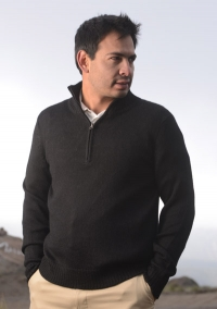 AF60 Maine Men´s Half zipper sweater