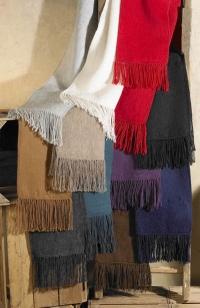 Woven 100% Alpaca scarves