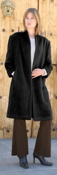 Princess Long Suri Alpaca Coat