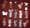 100% Alpaca Finger puppets