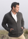 AF75 Maine Men's Full zipper cardigan