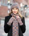 Chunky Palette Hand Knit Alpaca Scarf