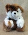 """12"""" Sitting Teddy Bear 100% Baby Alpaca"""