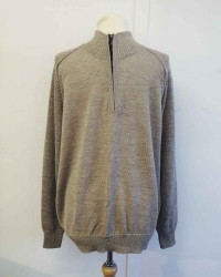 Men's York 1/2 Zip Alpaca Sweater